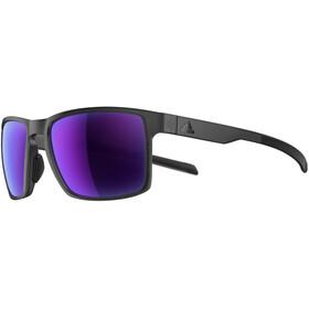 adidas Wayfinder Okulary rowerowe fioletowy/czarny